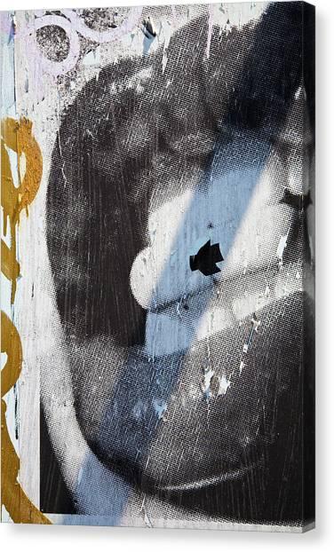 Lips Canvas Print by Mark Weaver