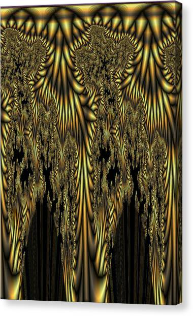 Liquid Gold Canvas Print