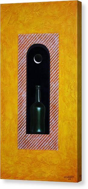 Moon Canvas Print - Liquid Moonlight by Horacio Cardozo