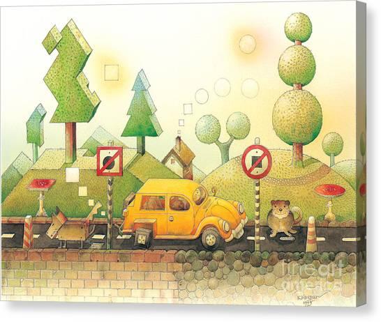 Lisas Journey02 Canvas Print by Kestutis Kasparavicius