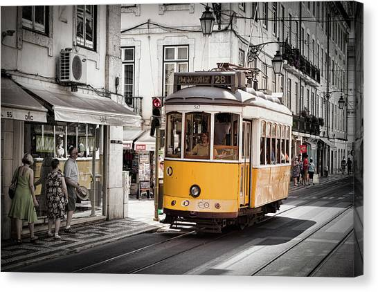 Lisboa Tram I Canvas Print