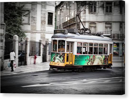Lisboa Tram IIi Canvas Print