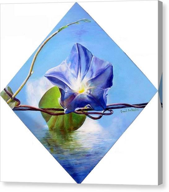 Liseron Canvas Print by Muriel Dolemieux