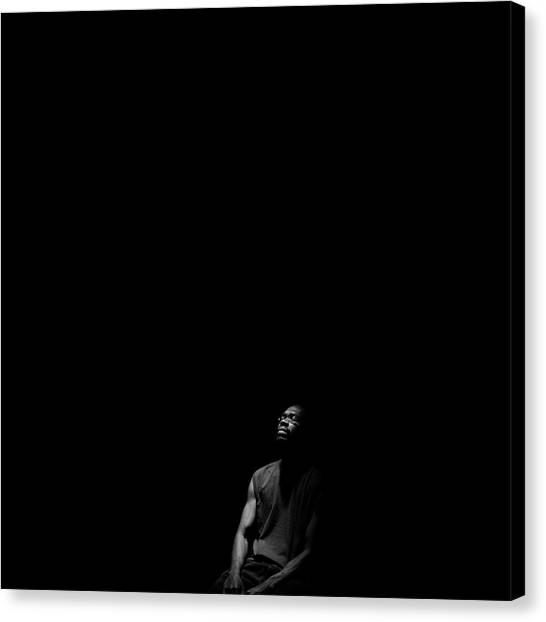 Canvas Print featuring the photograph Listen by Eric Christopher Jackson