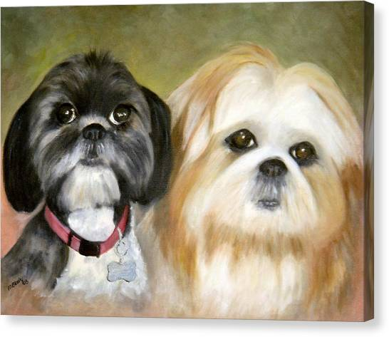 Little Angels Canvas Print by Merle Blair