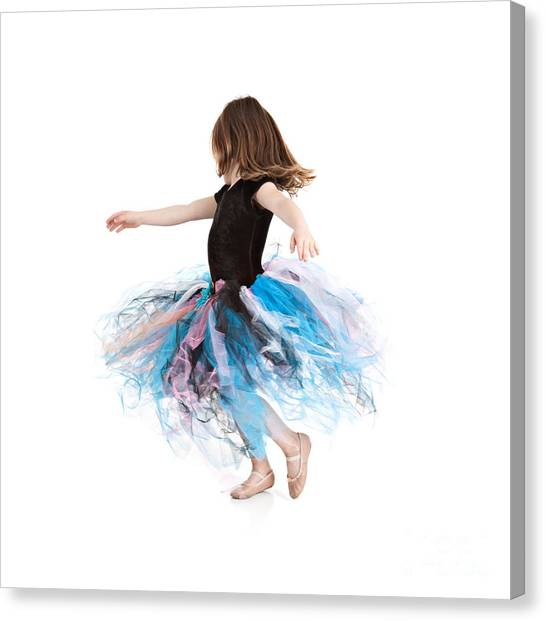 Little Ballerina Canvas Print