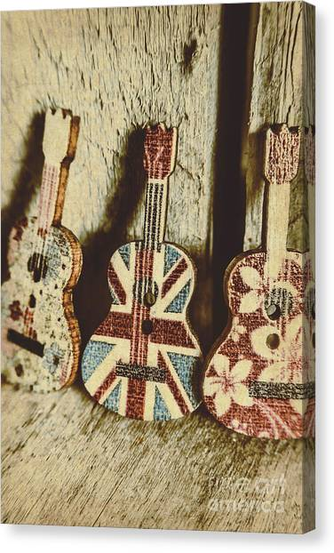 80s Canvas Print - Little Britain, Big Sounds by Jorgo Photography - Wall Art Gallery