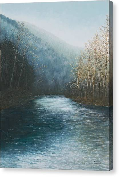 Little Buffalo River Canvas Print