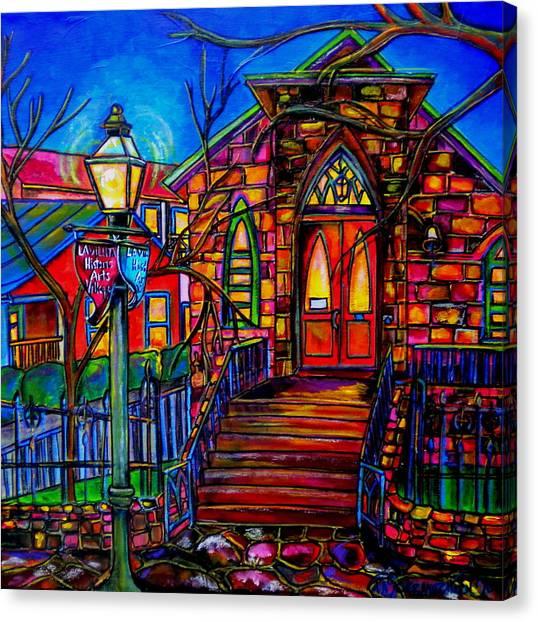 Little Church At La Villita II Canvas Print