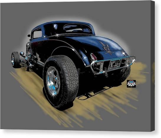 Little Deuce Coupe Canvas Print