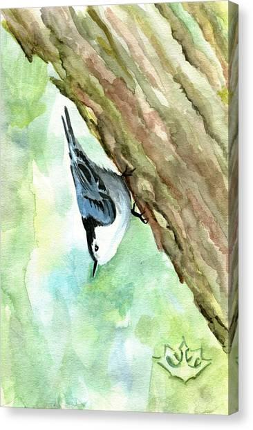 Little Friend Canvas Print