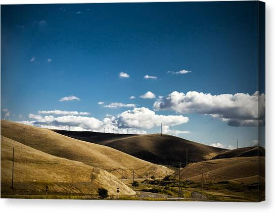 Little Hills Canvas Print by Subhadip Ghosh