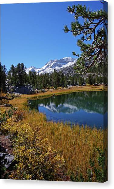 Little Lakes Valley 2 Canvas Print