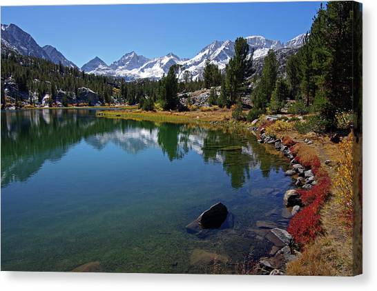 Little Lakes Valley 4 Canvas Print