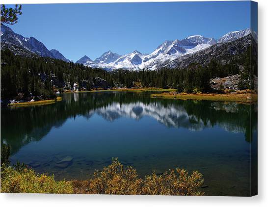 Little Lakes Valley Eastern Sierra Canvas Print