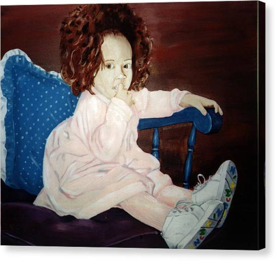 Little Miss Hassler Canvas Print by Kevin Callahan