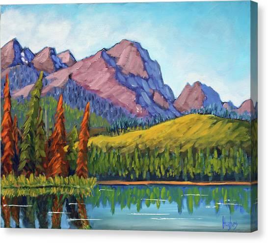 Little Redfish Lake Canvas Print