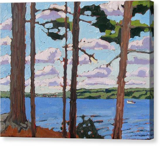 Little Rideau Lake Canvas Print