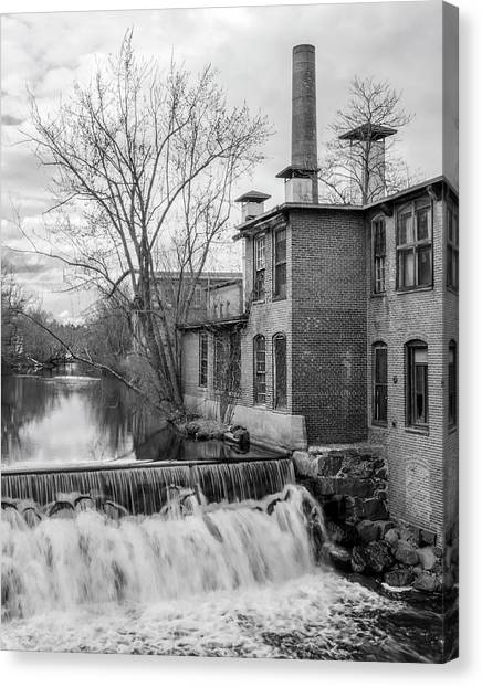 Little River Dam Canvas Print