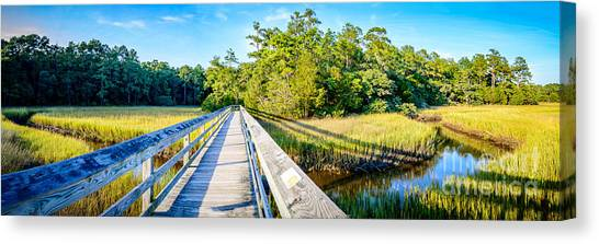 Little River Marsh Canvas Print