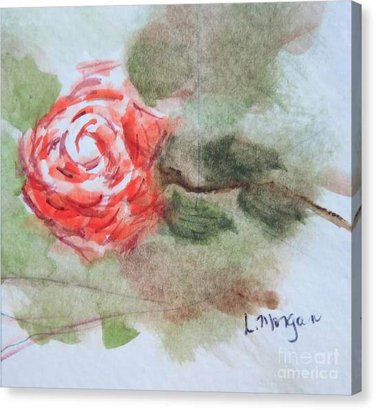Little Rose Canvas Print