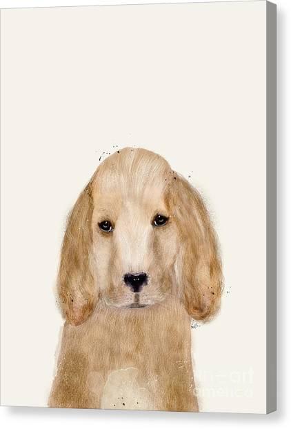Cocker Spaniels Canvas Print - Little Spaniel by Bleu Bri