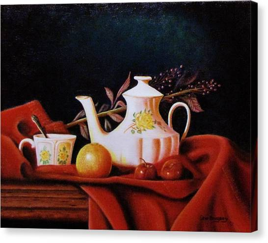 Little Tea Pot Canvas Print