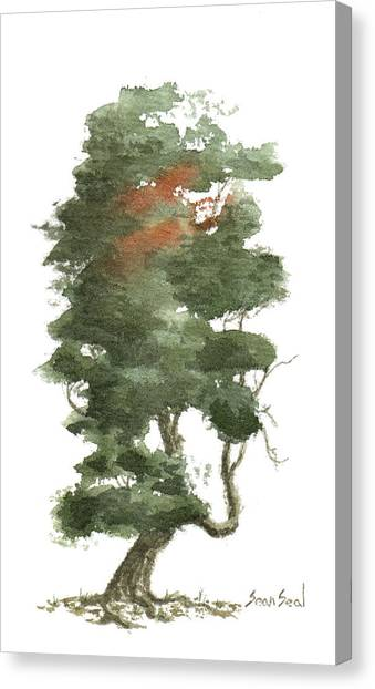Little Tree 16 Canvas Print