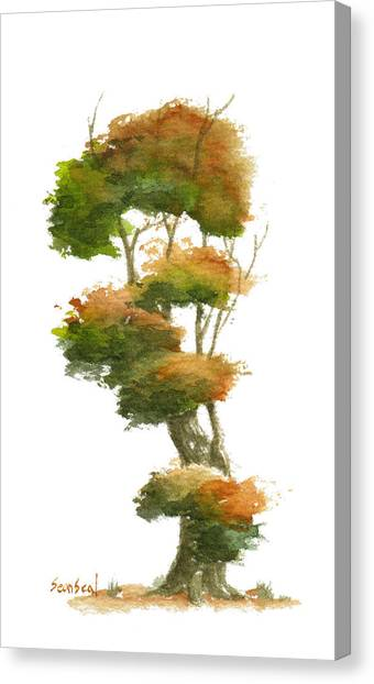 Little Tree 23 Canvas Print