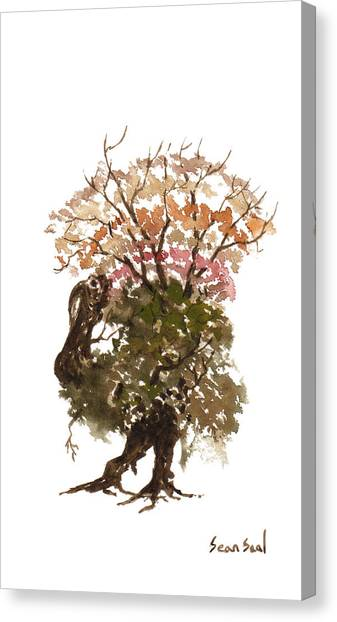 Little Tree 67 Canvas Print