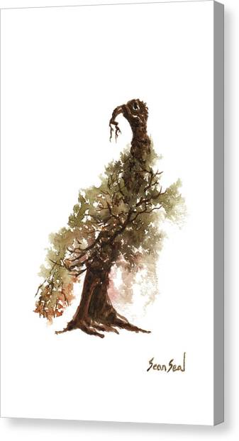 Little Tree 69 Canvas Print