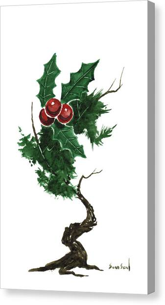 Little Tree 96 Canvas Print