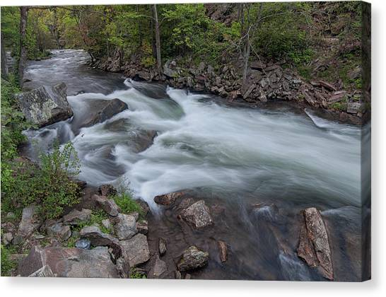 Little Wesser Falls Canvas Print