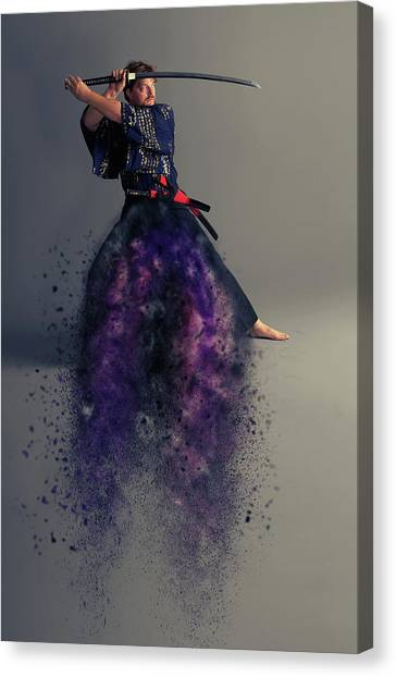 Live Canvas Print - Live By The Sword by Smart Aviation