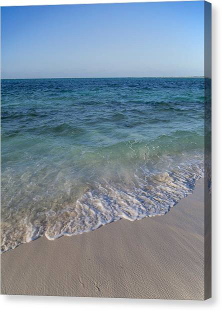 Carribbean Canvas Print - Live In The Moment by Betsy Knapp
