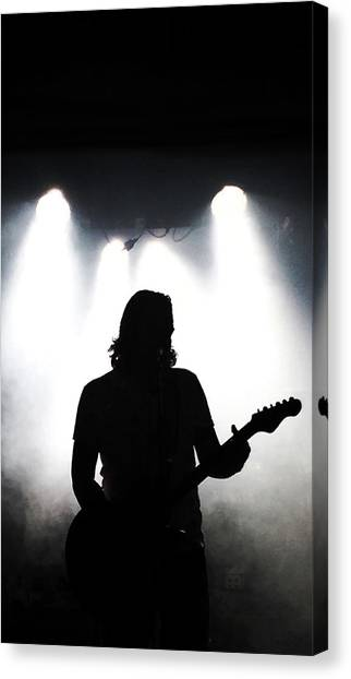 Guitars Canvas Print - Live Music by Andre Brands