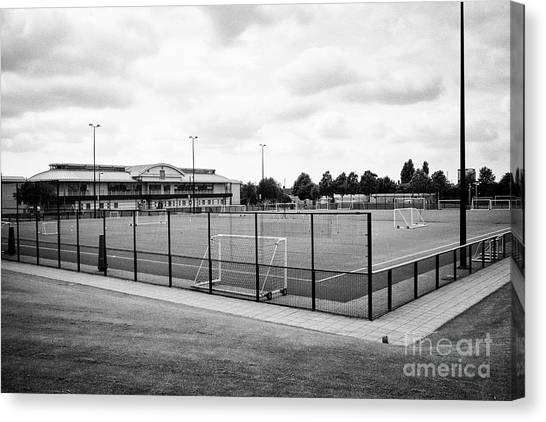 Liverpool Fc Canvas Print - Liverpool Fc Academy Kirkby England Uk by Joe Fox