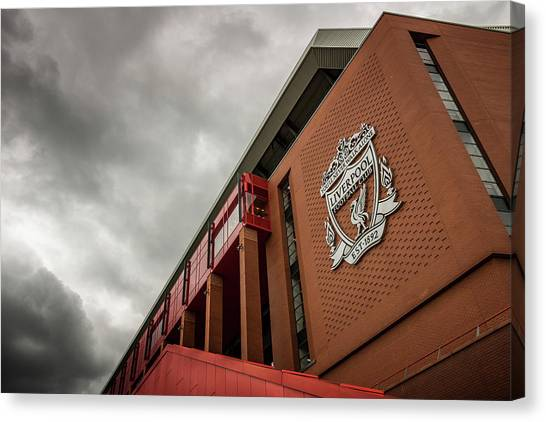 Liverpool Fc Canvas Print - Liverpool Football Club by Kevin Elias
