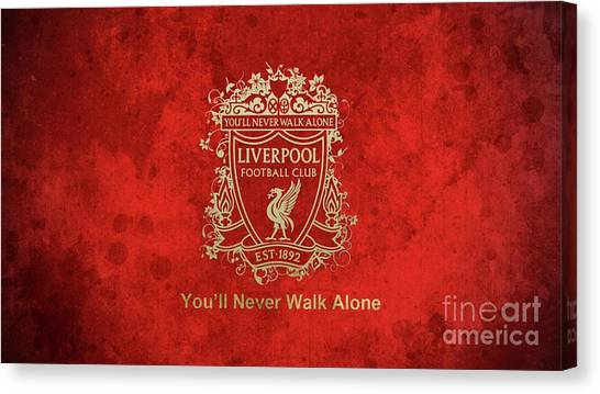 Liverpool Fc Canvas Print - Liverpool by Lundi Usop