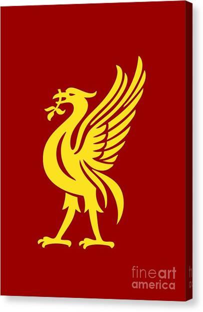 Liverpool Fc Canvas Print - Liverpool by Miranti Angel