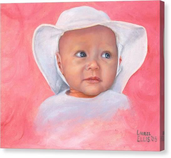 Livi Canvas Print by Laurel Ellis