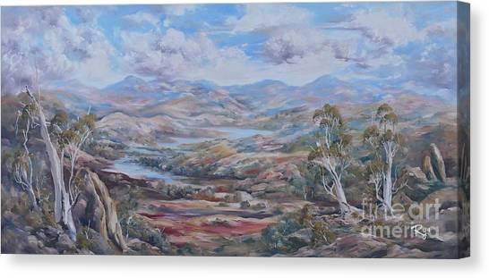Living Desert Broken Hill Canvas Print