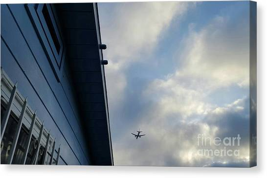 Living In The Landing Zone  Canvas Print