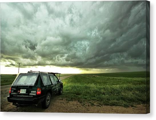 Living Saskatchewan Sky Canvas Print