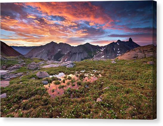 Lizard Head Wilderness Canvas Print