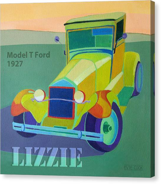 Lizzie Model T Canvas Print