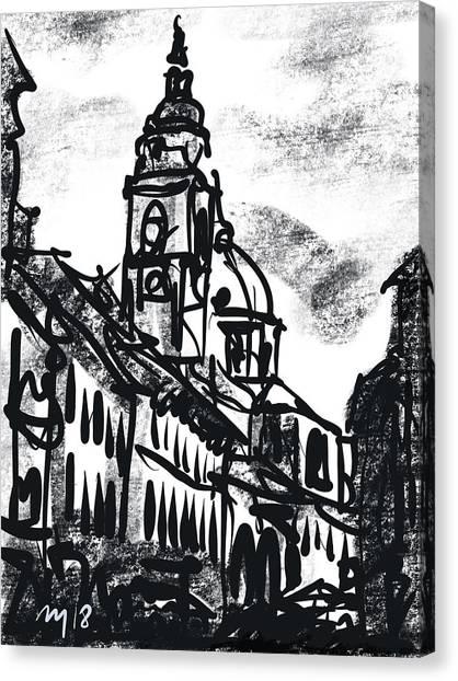 Ljubljana Canvas Print - Ljubljana 06 by Ugljesa Janjic