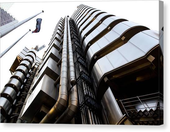 Lloyds Building London  Canvas Print