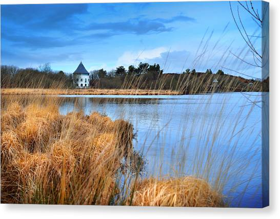 Llyn Llech Owain Country Park 1 Canvas Print