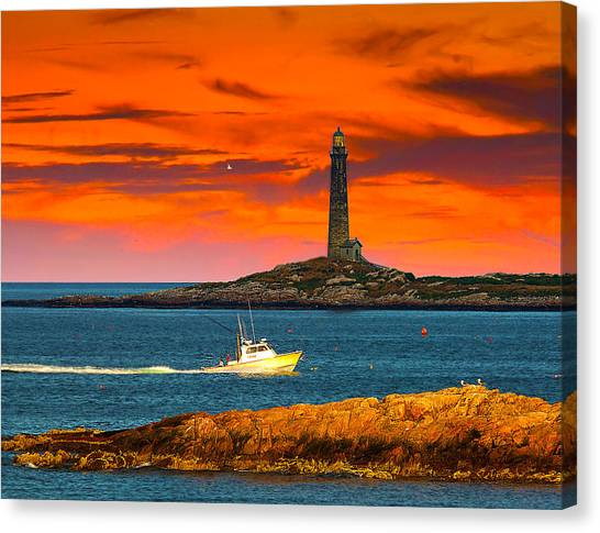 Lobster Boat Cape Cod Canvas Print
